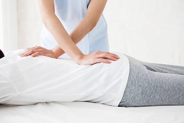 Hands massage low back